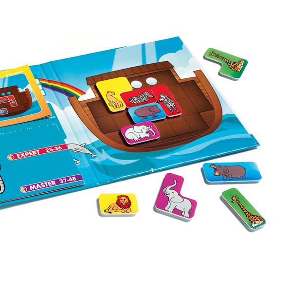 Smart Games логическa магнитнa игрa за път Noah's Ark