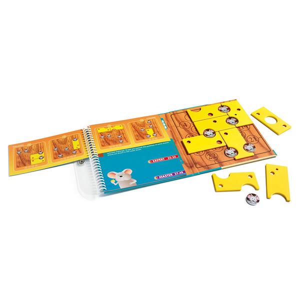Smart Games логическа магнитна игра за път Brain Cheeser