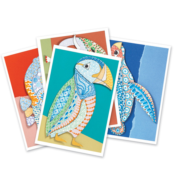 Djeco комплект за оцветяване Motif Art