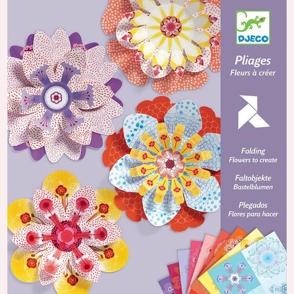 Djeco киригами направи цветя