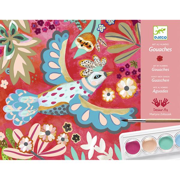 Djeco комплект за оцветяване Melody