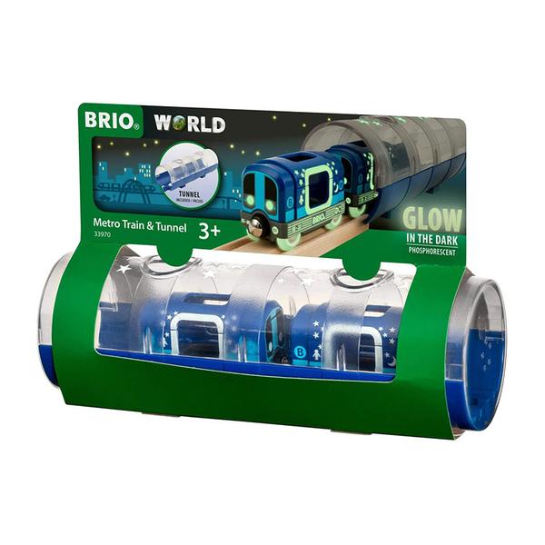 Brio комплект метро влакче и тунел