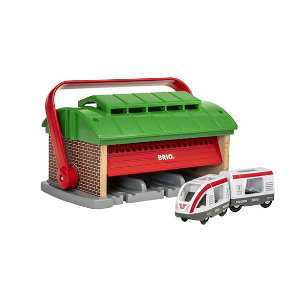 Brio гараж за влакове