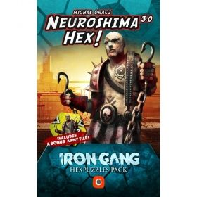 Разширение за Neuroshima Hex! 3.0 - Iron Gang Hexpuzzles Pack