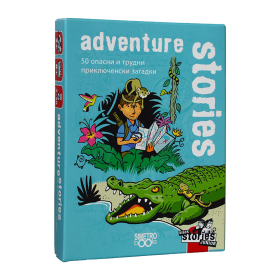 Картова игра Black Stories Junior, Adventure Stories