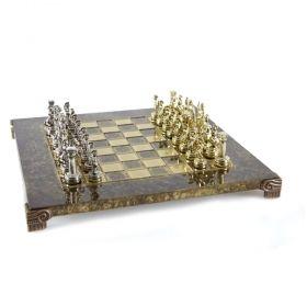 Луксозен шах Manopoulos - Гръцко/Римски период, 28x28 см