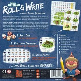 Настолна игра Imperial Settlers - Roll & Write