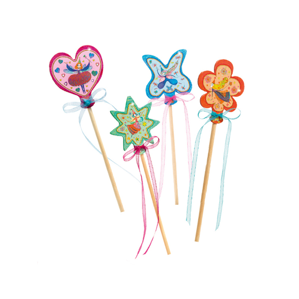 Djeco комплект Направи магическа пръчица Little fairies