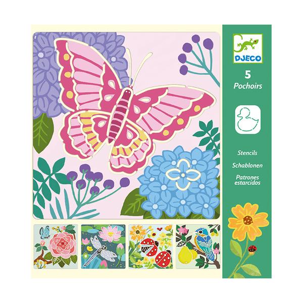 Djeco шаблон Garden wings
