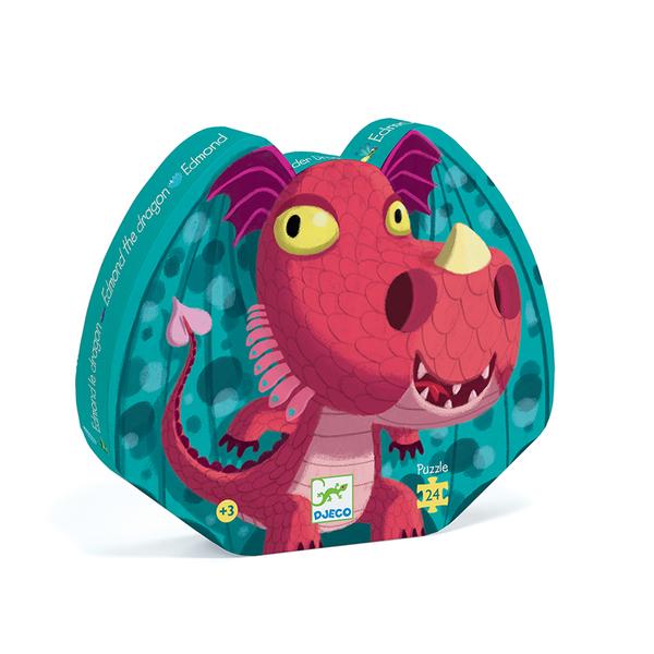 Djeco пъзел Edmond the dragon