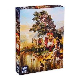 Пъзел от 1000 части Black Sea Puzzles - Легенда за Цар Самуил, Васил Горанов