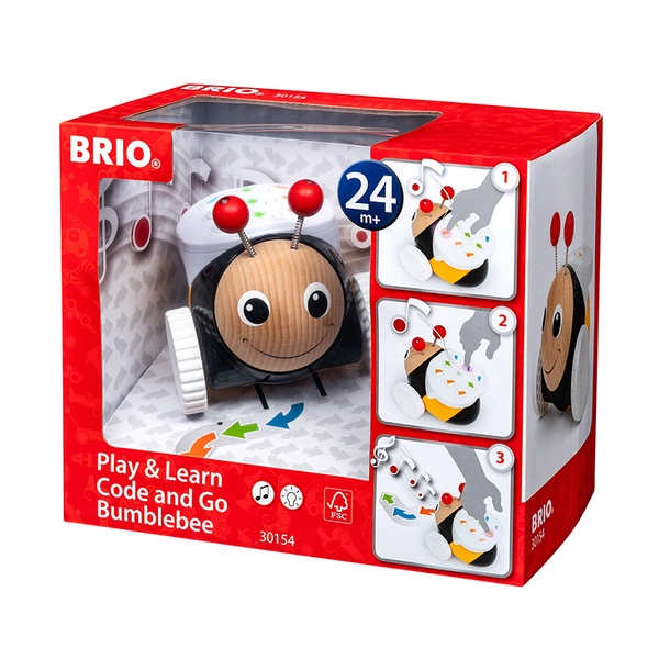 Brio играчка за дърпане Code and Go