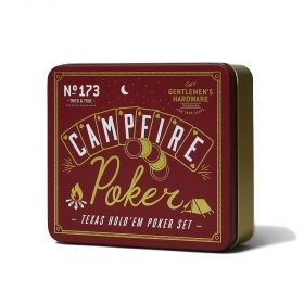 Комплект за покер Gentlemen's Hardware - Campfire Poker