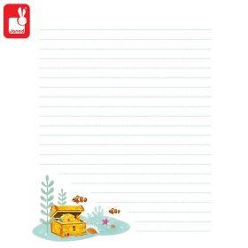 Janod Таен дневник с катинарче Русалки J07858
