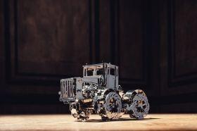 Метален 3D пъзел с механизъм Time for Machine - Трактор