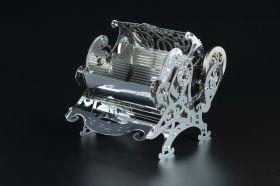 Метален 3D пъзел с механизъм Time for Machine - Разкошна кутия
