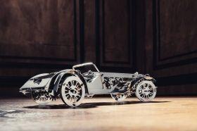 Метален 3D пъзел с механизъм Time for Machine - Великолепно кабрио