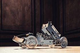 Метален 3D пъзел с механизъм Time for Machine - Сребристият куршум