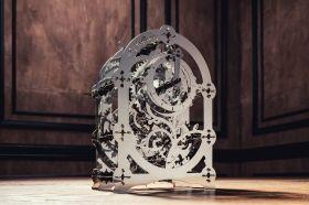 Метален 3D пъзел с механизъм Time for Machine - Мистериозният часовник