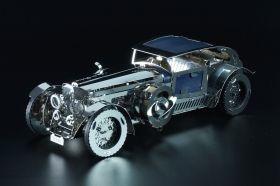 Метален 3D пъзел с механизъм Time for Machine - Луксозен роудстър