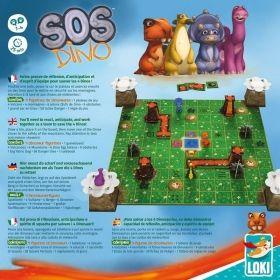 Настолна игра SOS Dino