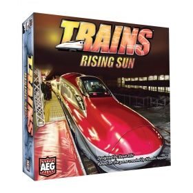 Настолна игра Trains - Rising Sun