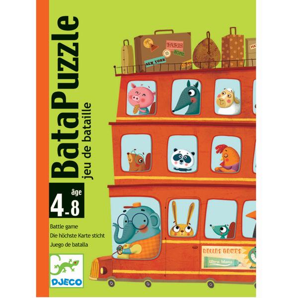 Djeco игра с карти Bata Puzzle