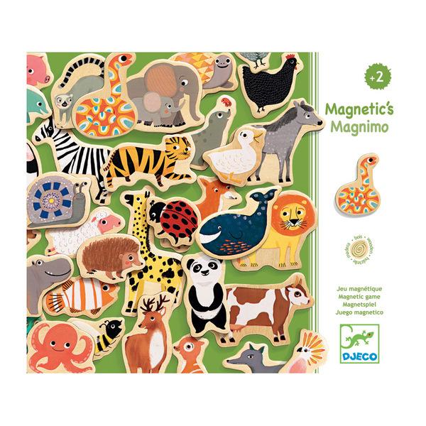 Djeco дървени магнити Magnimo