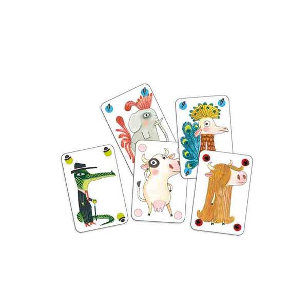 Djeco игра с карти лъжльото