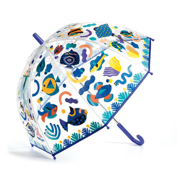 Djeco чадър Fishes сменящи се цветове