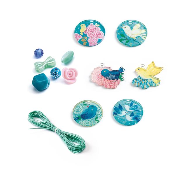 Djeco игра създай на бижута Fancy beads Birds