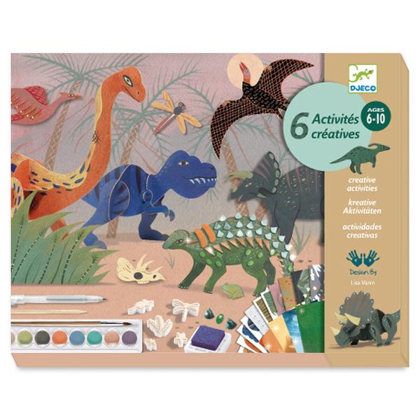 Djeco креативен комплект Динозаври