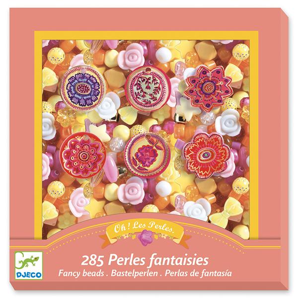 Djeco игра създай бижута Fancy beads Flowers