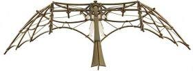 Сглобяем модел Revell - Леонардо Да Винчи - Glider, дървен