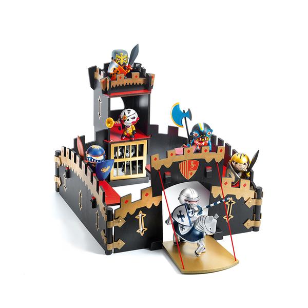 Djeco замък Ze black