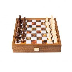 Комплект шах и табла Manopoulos, 27x27 см