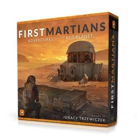 Настолна игра First Martians - Adventures on the Red Planet