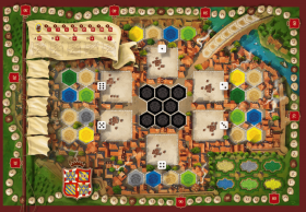 Настолна игра The Castles of Burgundy (20th Anniversary)