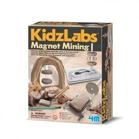 Творчески комплект 4M - Магнитен минен добив