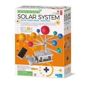 Образователен комплект 4M - Моторизирана Слънчева система