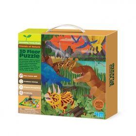 Творчески комплект 4M - 3D пъзел Динозаври