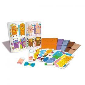 Творчески комплект 4M - Хартиени пликове - животни