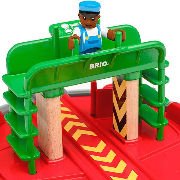 Brio гара Turntable & figure