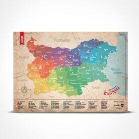 Скреч карта Creative Egg - България, класическа