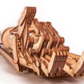 Механичен 3D пъзел Wood Trick - Ръка, 220 части