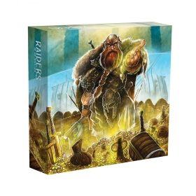 Органайзер за Raiders of the North Sea - Collector's Box, с протектори за карти