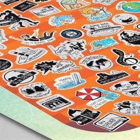 Скреч постер 99 неща, които да направиш през живота си Fix Idea