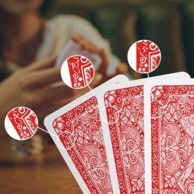 Маркирани карти за игра със знаци на гърба