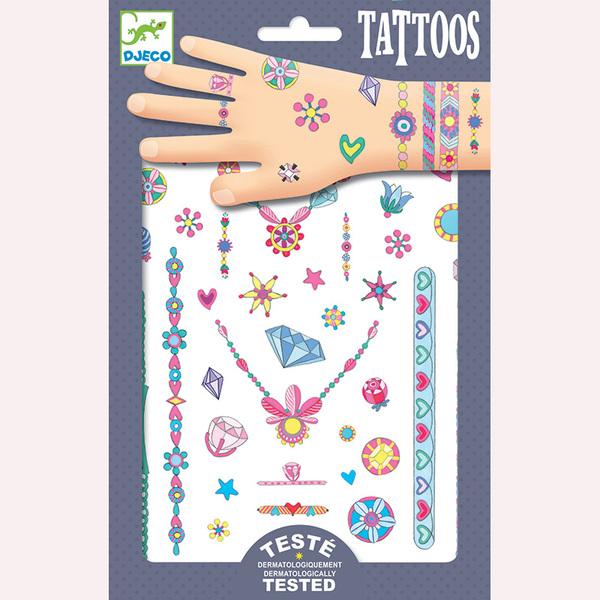 Djeco татуировки бижутата на Жени