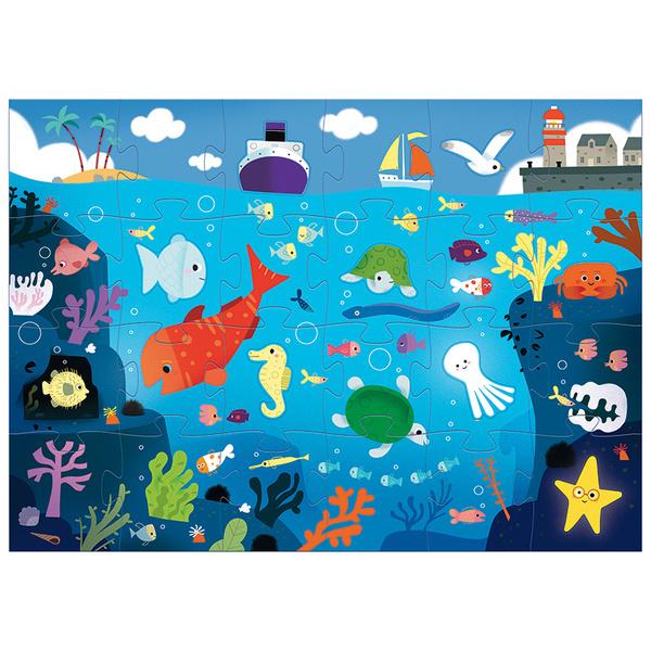 Djeco пъзел гигант морски свят